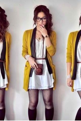 mustard&tights