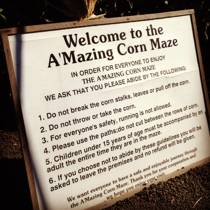 Do Not Throw the Corn