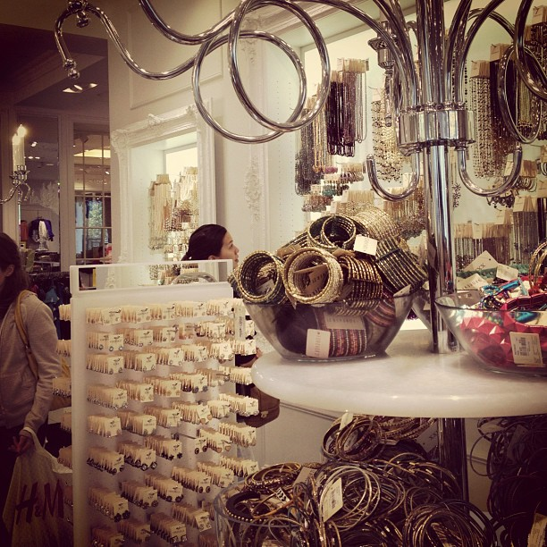 Accessories section from Forever 21 at 2 Stockton