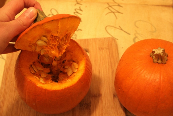 Pumpkin With Cap Removed