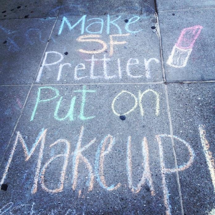 Outside Benefit San Francisco, photo by Sarah Lee