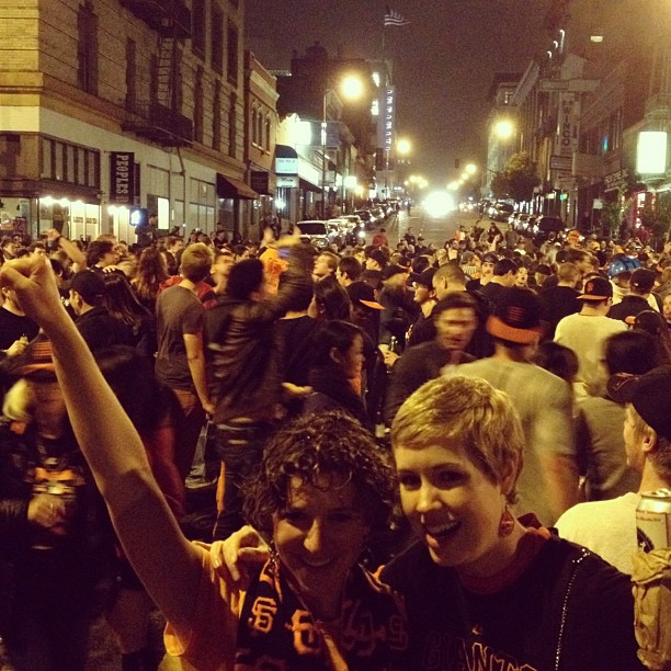 SF Giants World Series Party