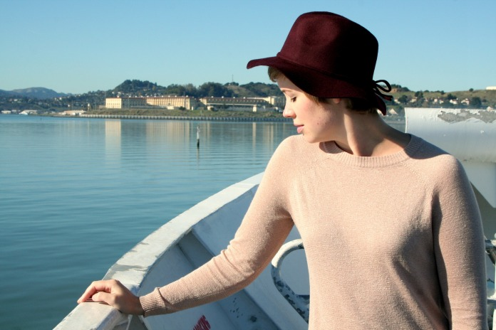 Banana Republic hat, Forever 21 sweater, Ferry Ride