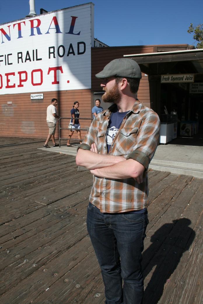 Jim in Old Sacramento