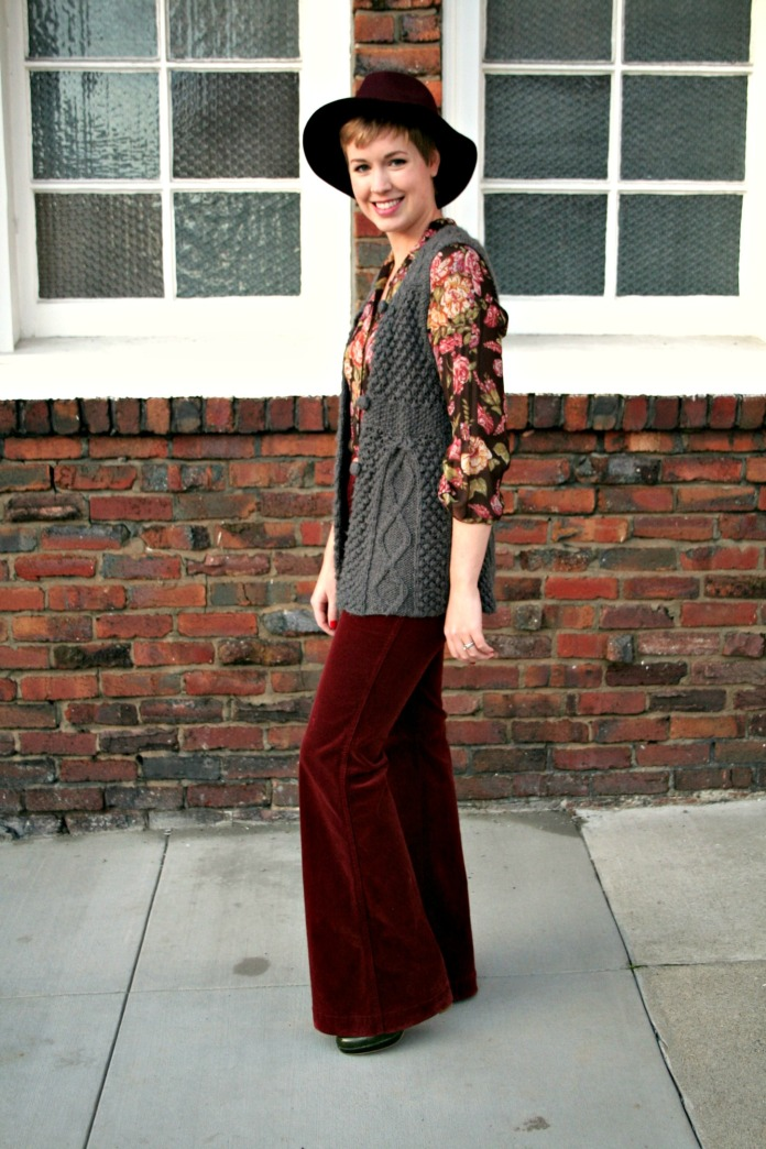 70's-inspired outfit by Sanfranista