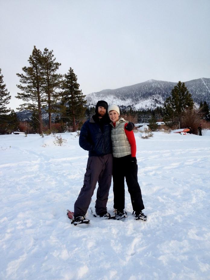 Snowshoeing in Tahoe