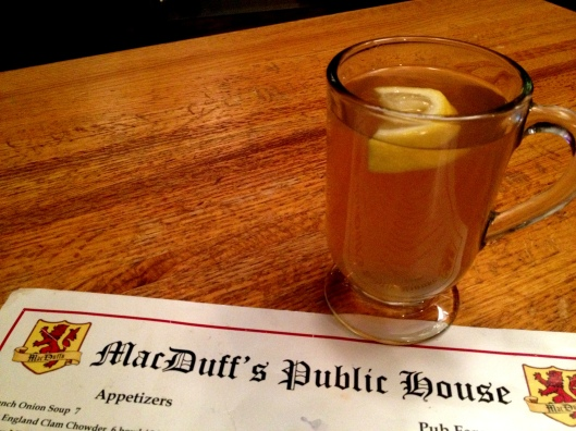 "Hot Toddy at MacDuff""s"