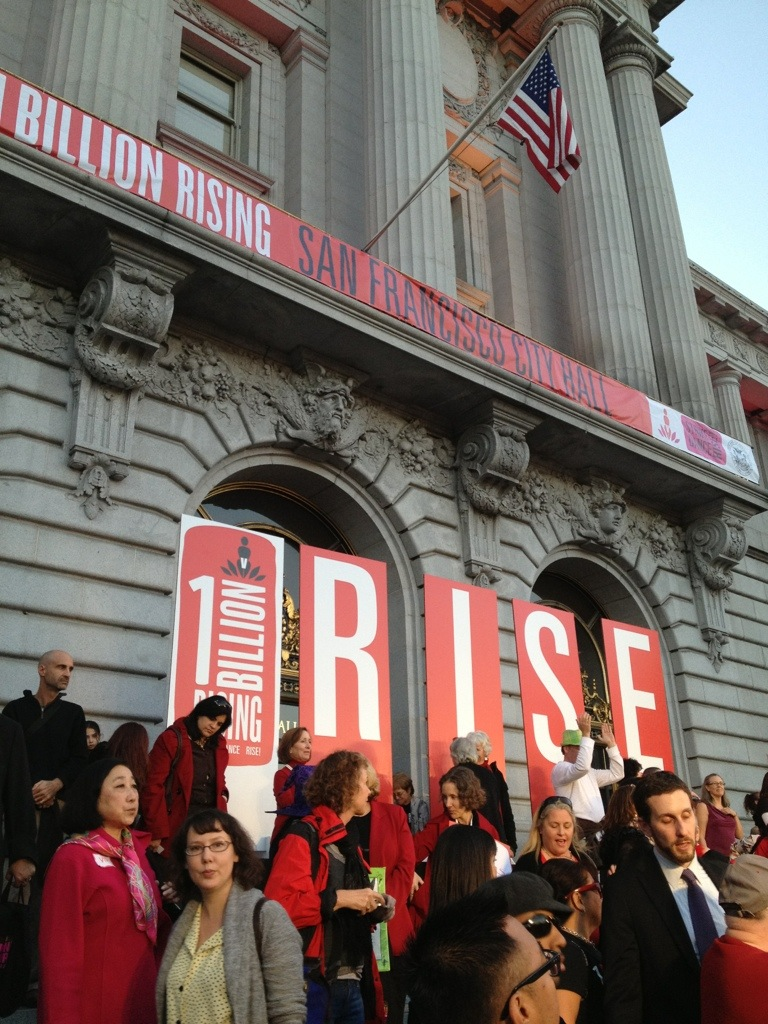 One Billion Rising, 1 Billion Rising, One Billion Rising SF, One Billion Rising San Francisco