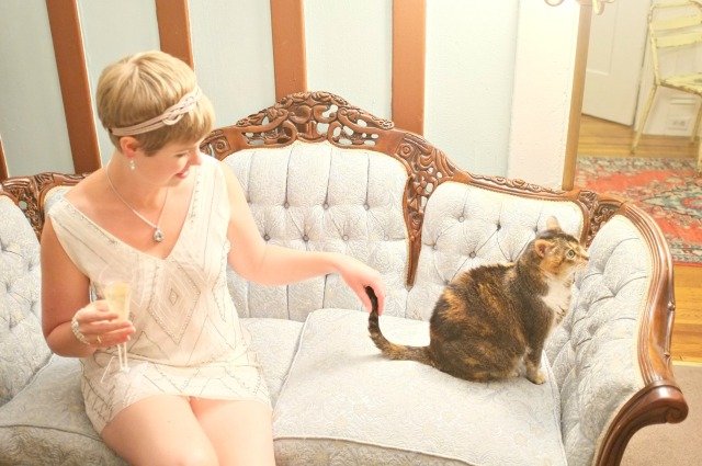 Gatsby style, Daisy Buchanan, Gatsby costume, flapper style, Alice Olivia dress, 20's style, 20's fashion