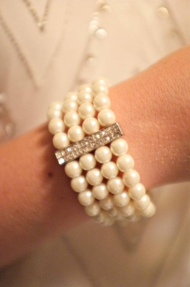 20's jewelry, pearl bracelet