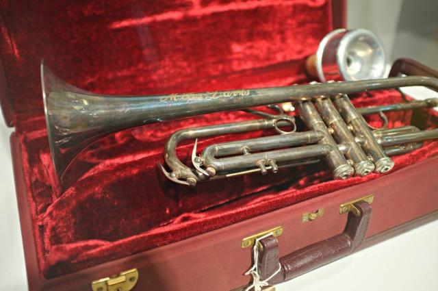 Miles Davis trumpet, Miles David exhibit, Festival del Sole, Festival del Sole 2013, Napa Fest, Napa Fest 2013