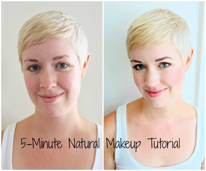natural makeup, bareMinerals makeup, easy makeup, quick natural makeup, mineral makeup how-to, natural makeup before after